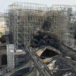 کلیسای نوتردام پاریس دو سال و نیم پس از آتشسوزی